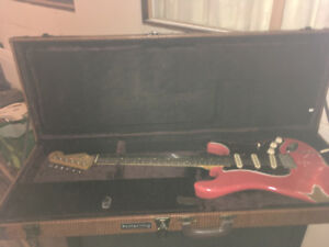 Nash heavy relic 60s stratocaster with HSC