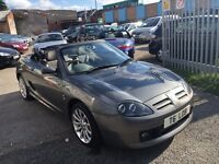 MG TF 135 SPRINT PETROL MANUAL 1.8. 2002 HALF LEATHER