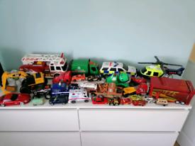 Toys bundle for a boy/ cars, emergency vehicles etc.