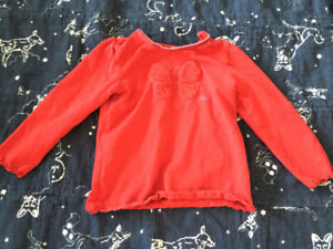 24 months Children's Place Butterfly long sleeved top