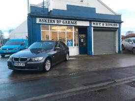 2005 BMW 320d SE, 96,000 MILES, FULL BLACK LEATHER, ONE PREVIOUS OWNER