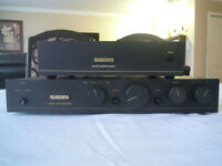 Sugden C128SL Pre amplifier + Sugden SPX1A power supply