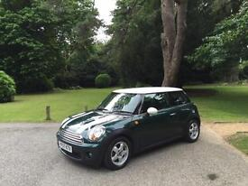 2007 Mini 1.6 ( 120bhp ) Cooper 3 Door Hatchback 6 Speed Green/White