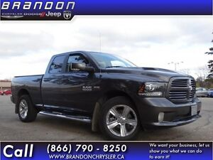 2014 Ram 1500 Sport-Leather Seats, Heated Seats, Ventilated Seat