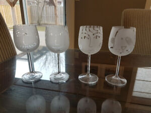Unique Crystal Wine Glasses
