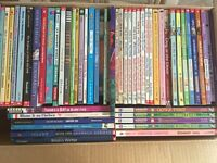 Box of 55 Pre-Teen chapter books for sale
