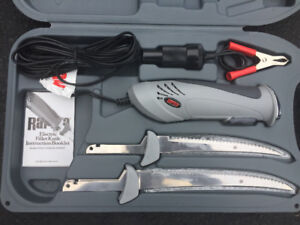 New rapala delux electric fillet knife