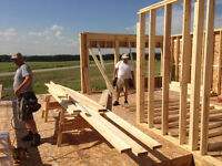 FRAMERS NEEDED – WORK in the new subdivisions