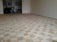 FLOORING/SANDING/FINISHING