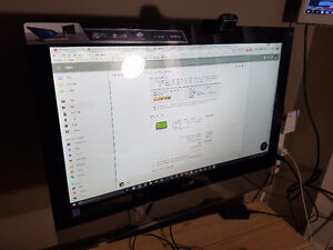 Acer touchscreen monitor