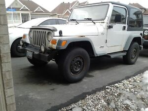 2002 Jeep Wrangler TJ Sport Apex Edition