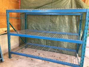 Shelving heavy duty - racking storage with mesh