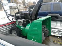 Affordable snow blowing