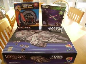 STAR WARS PUZZLES, GAME, LEGO BOOK AND FIGURE Windsor Region Ontario image 1