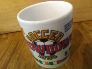 Tasse de la coupe du monde 1994 soccer showdown FIFA world cup
