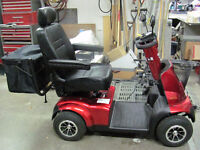 Mobility Scooter and vehicle lift