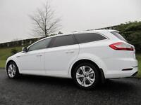 2012 MODEL FORD MONDEO *TITANIUM* ESTATE 2.0TDCi 163BHP*LOW MILES* FROZEN WHITE*