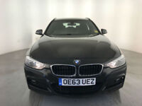 2014 BMW 320D M SPORT AUTO ESTATE DIESEL 1 OWNER BMW SERVICE HISTORY FINANCE PX