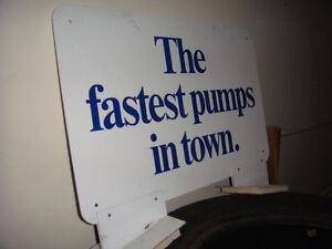 Gulf Gas Pump SIgn Strathcona County Edmonton Area image 2