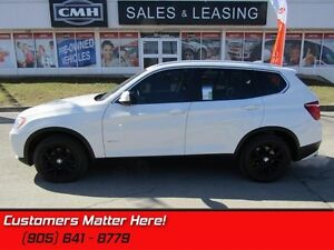 2014 BMW X3 xDrive28i   AWD    LEATHER    ROOF  NAV   PREM-PKG!