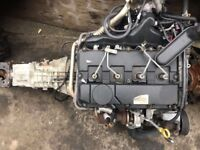 Ford Transit 2.4 Tddi complete engine and gearbox 2001/2006