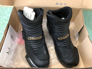 Motorcycle helmet and boots for sale!