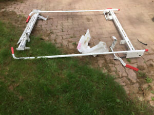 Ladder rack for dodge caravan cargo van