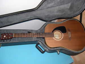 Art and Lutherie Acoustic Guitar with pickup.