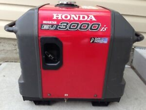 ⚡️ 2015 HONDA EU3000iS INVERTER GENERATOR ELECTRIC START ⚡️