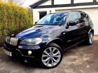 **1 PREV OWNER** 2010 BMW X5 XDRIVE 35D M SPORT 4X4 CARBON BLACK ESTATE AUTO