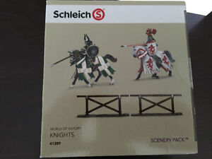 Schleich Tournament Knights Scenery Pack Toy Cambridge Kitchener Area image 4