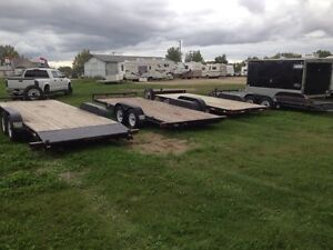 RENTAL 18' and 20' CAR HAULERS FOR RENT, BEST RATES!