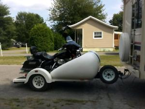 Trailer à moto