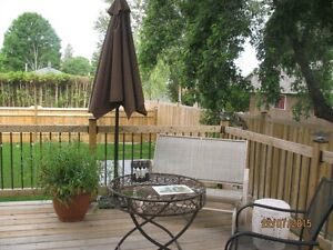 EXECUTIVE 3 BEDROOM WITH PRIVATE DECK AND BACKYARD