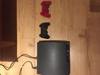 Ps3 320gb with hdmi, 2 controllers, 9 games for $200!