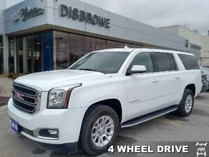2016 GMC Yukon XL SLT   4x4, Leather, Sunroof