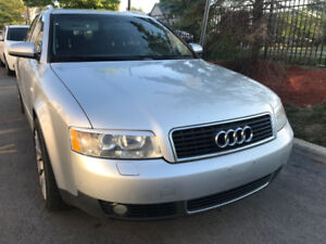2003 Audi A4 for $2500 + Tax - Certified