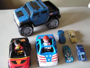 Très beau lot de jouets pour garcon