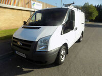 FORD TRANSIT 300 SWB LOW ROOF 115 BHP FWD 6 SPEED 2011 61 IN WHITE