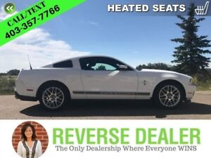 2012 Ford Mustang V6  Shaker sound, Automatic, Heated Cloth seat