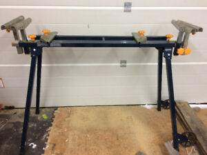 Portable mitre saw stand
