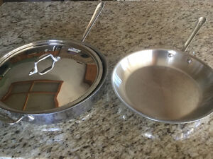 All-Clad Pans - Like New
