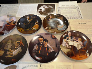 Set of 10 Knowles Ltd. Edition Norman Rockwell Collector Plates Kitchener / Waterloo Kitchener Area image 4