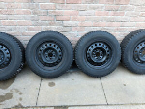 4 Hankook Winter Tires (225/70R16)