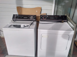 Inglis Topload Washer and Frontload Dryer