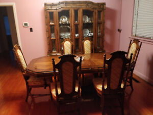 Rare Bamboo Dining Room Set - Exellent Condition! $600 FIRM