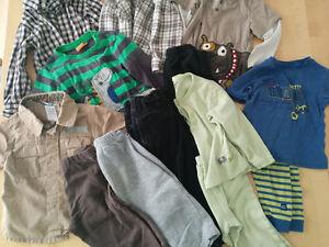 Lot de vêtements garçon 18 mois (grand) - 13 morceaux