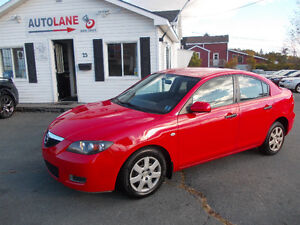 2008 Mazda 3 Sedan Reliable RED  RED RED RED Only $4795