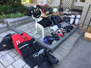 Variety of Hockey Equipment ALL FOR SALE!!! (Condition: 6/10)