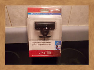 PLAY STATION 3 EYE CAMERA AND DISNEY INFINITY -NEW